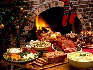 Mantener el peso en navidad