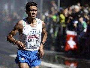 Atleta italiano Daniele Meucci