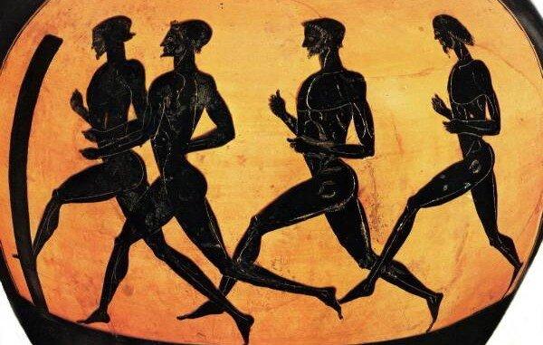 el origen del atletismo