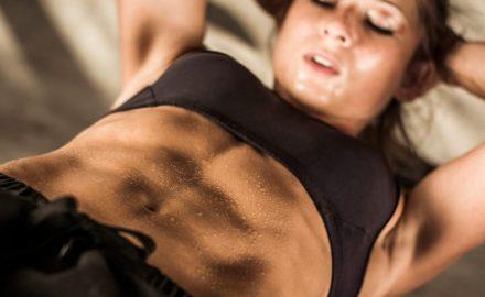 hacer abdominales