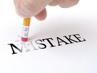 errores que cometemos en competición