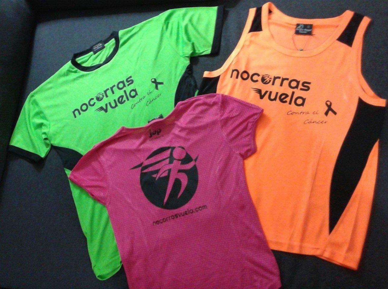 Con esta camiseta colaborarás con la AECC y con nuestro proyecto INTEGRATLETISMO