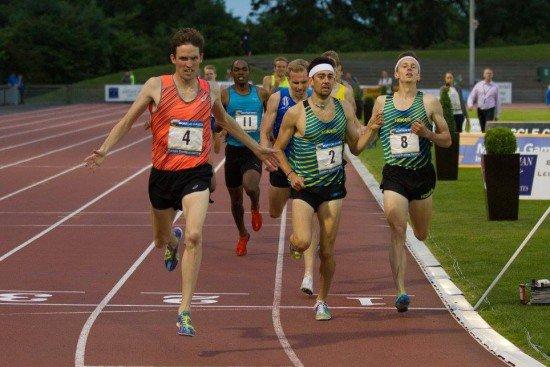 correr una milla