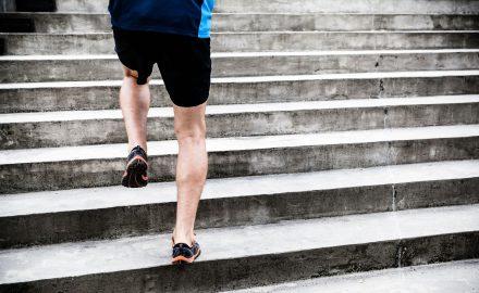entrenamiento de escaleras