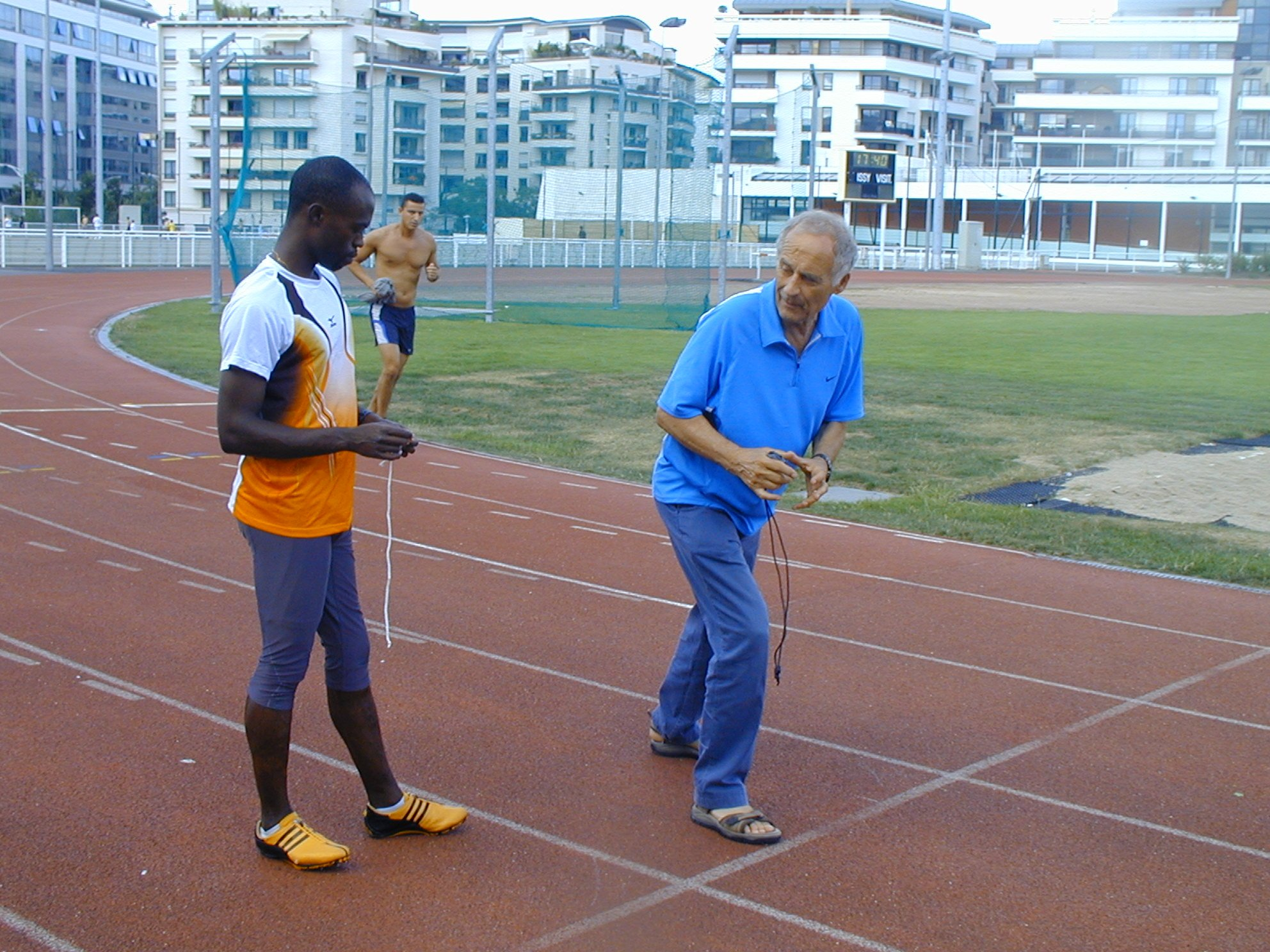 entrenador para correr