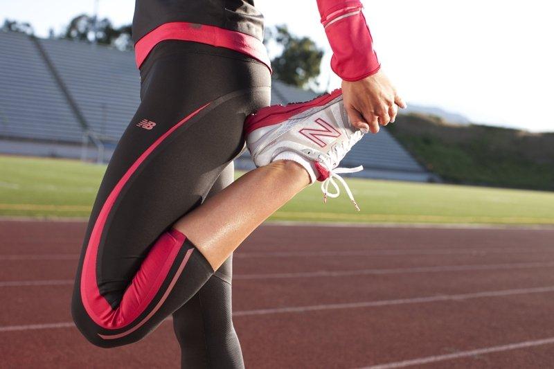 estirar antes de correr