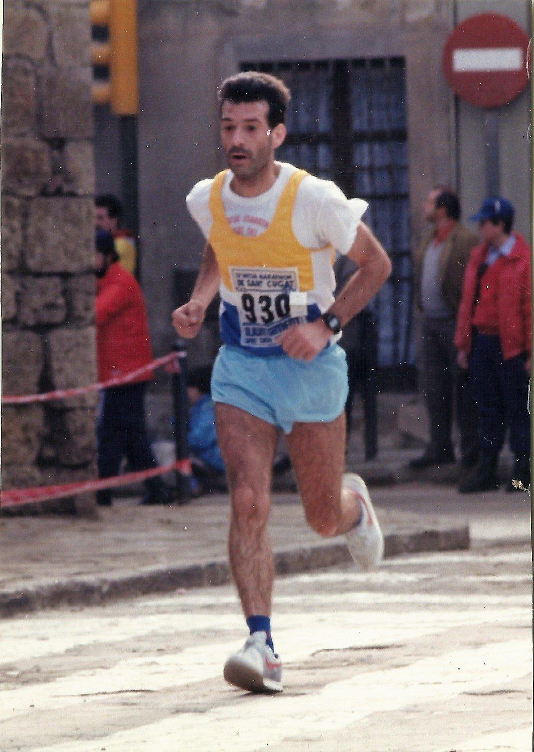 como se corría hace 30 años