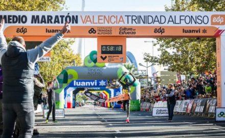 récord del mundo de medio maratón