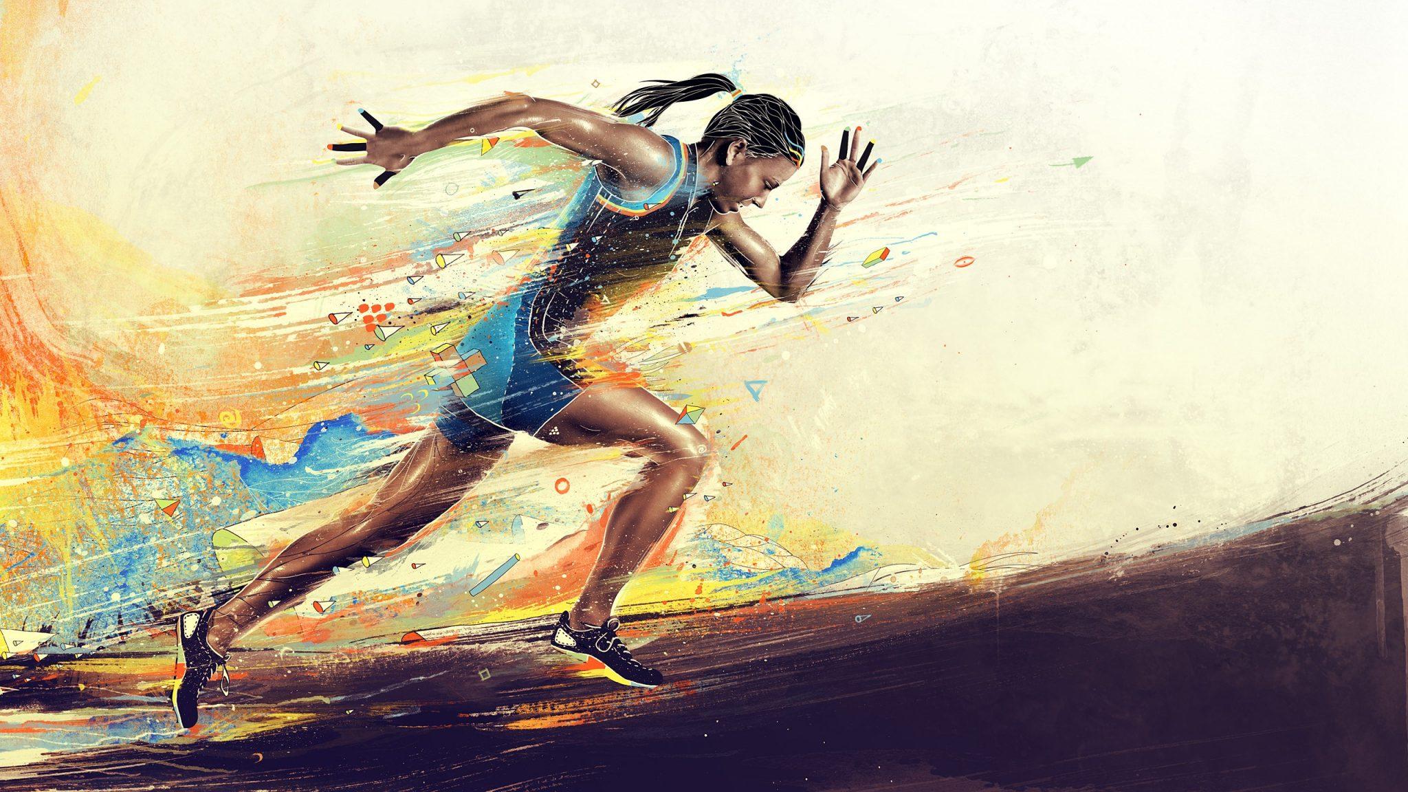 correr es un arte