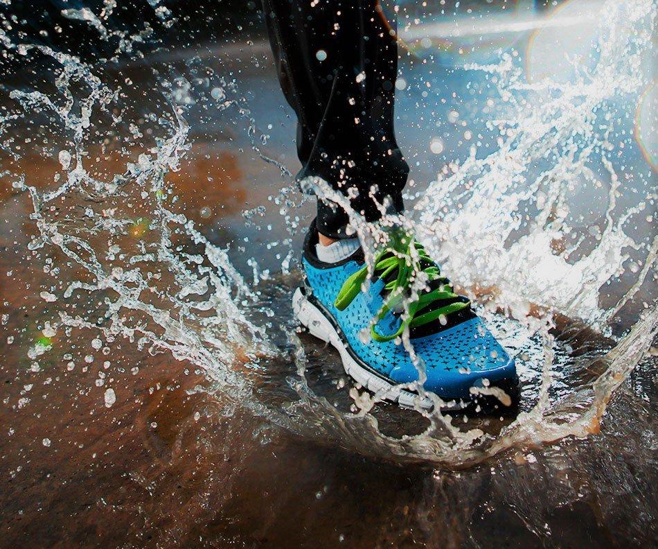 salir a correr con lluvia