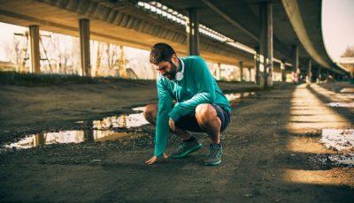 entrenas el mes antes de una carrera