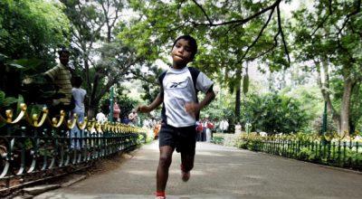 niños corredores