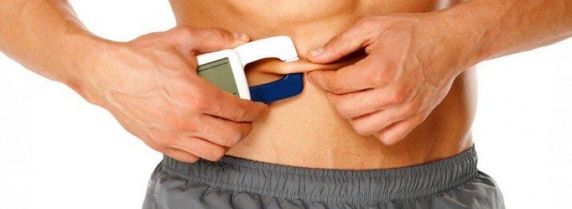 medición grasa corporal con plicómetro