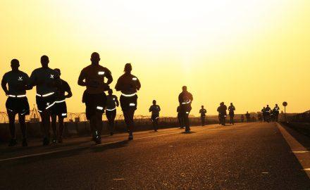 entrenar 40 kilómetros semanales
