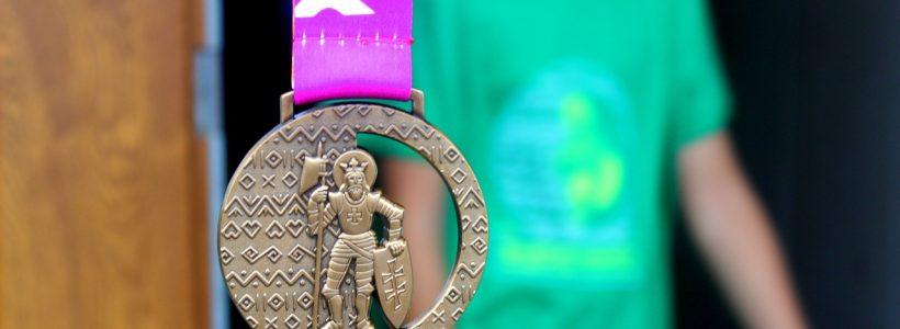 medalla finisher de carrera popular