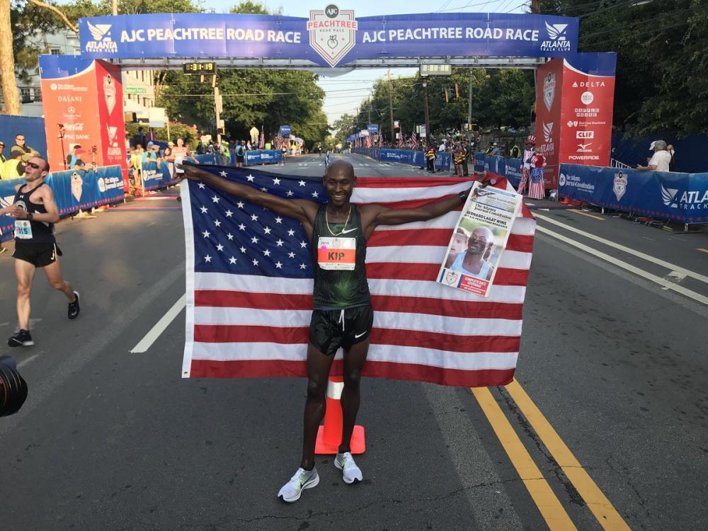 bernard ñagat maratón de nueva york
