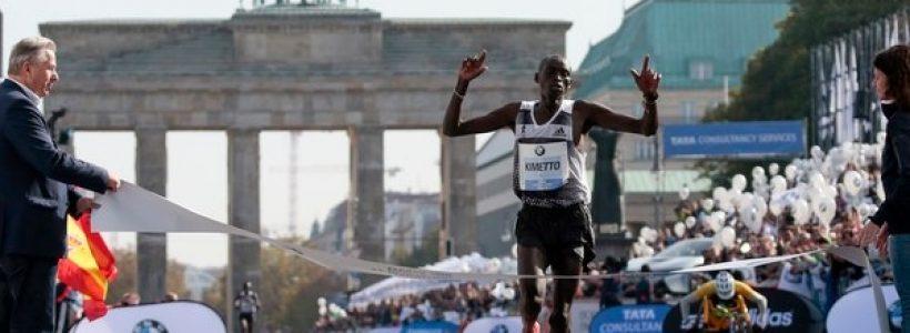 dennis kimetto en el maratón de Shanghai