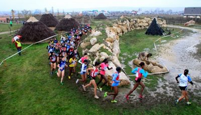 competir en una carrera de cross