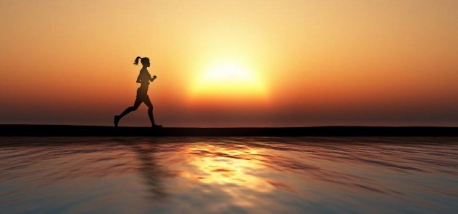 mejor hora del día para correr