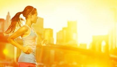 competir en verano o con calor correr