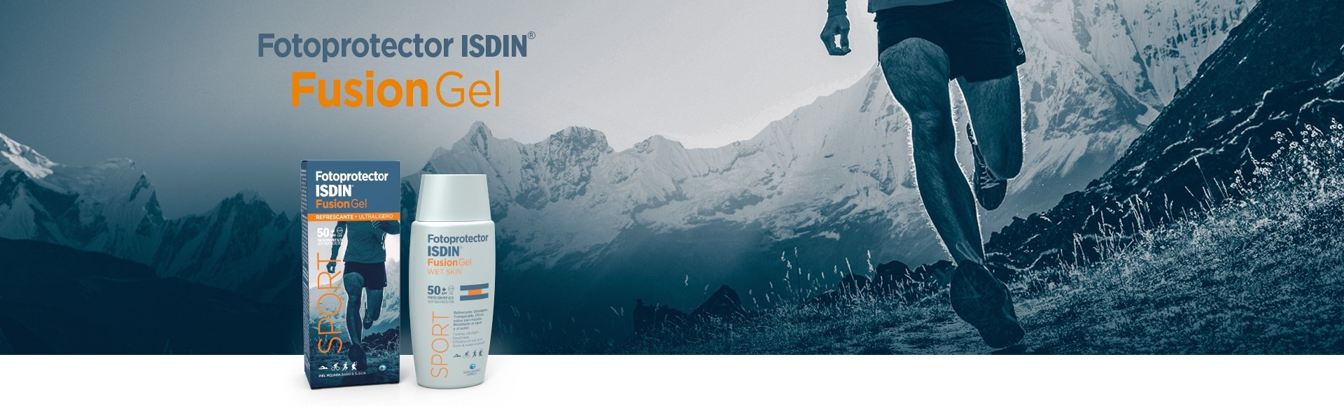 ISDIN Fotoprotector Set de Fusion Gel Y Fusion Water