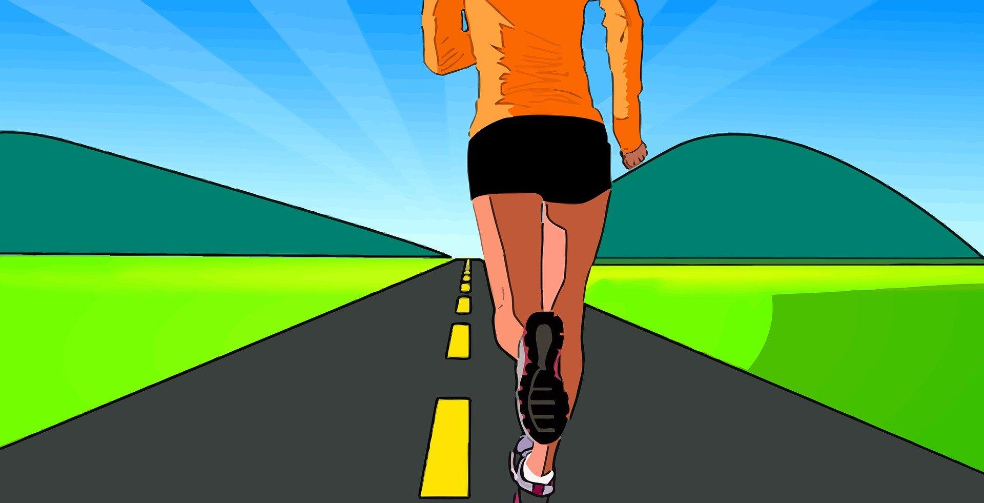 próxima carrera de running