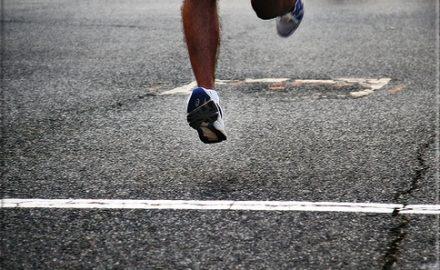 linea de meta de una carrera
