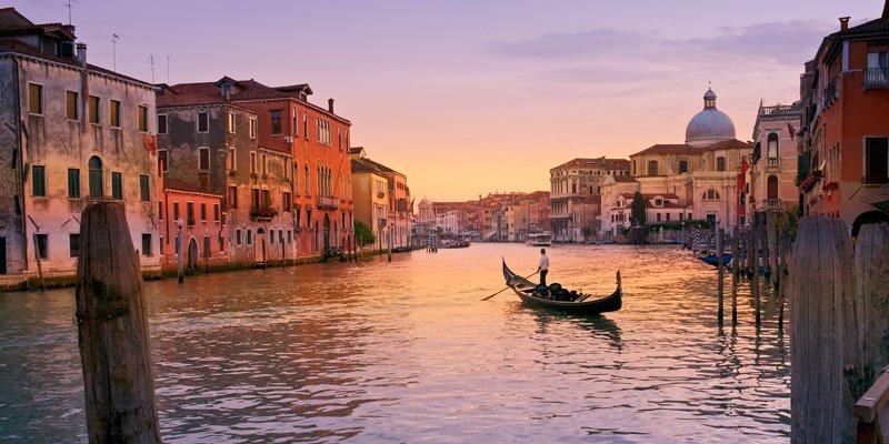 correr por Venecia