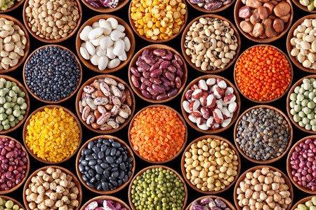 alimentos para la falta de hierro en corredores legumbres