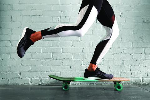 skate y correr